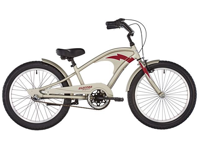 """Electra Superbolt 3i - Vélo enfant - 20"""" beige/argent"""